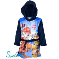 Infant Toddler Kids Child Rocket Space Contrast Dressing Gown Robe Soft Ages 2-6