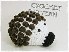 The most adorable (and easy) hedgehog pattern I have ever seen! Working on my third one right now ♥