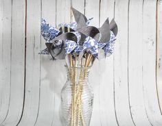 Damask pinwheels by Msapple
