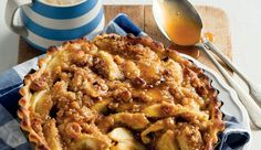 Caramel apple pie - a delicious taste of France #MothersDay