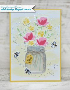 Jar of Love Card