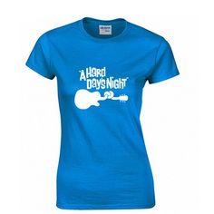 A hard days night Fashion Print 100% Cotton Women's T-shirt