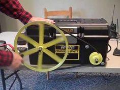 Human powered emergency generator!