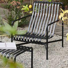 Outdoor Furniture Design, Garden Furniture, Outdoor Spaces, Outdoor Chairs, Outdoor Decor, Ronan & Erwan Bouroullec, Ottoman, Lounge Chair, Urban Setting