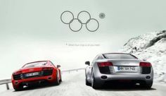The image below is a fake Audi ad, and it goofs off about the Olympic rings fail during the opening ceremony in Sochi and Audi's four-ring logo. This is actually pretty clever. Too bad it's not an official ad. Epic Fail Pictures, Funny Pictures, Audi R8, Ambush Marketing, Olympics Opening Ceremony, Funny Ads, Hilarious Stuff, Funny Shit, Great Ads