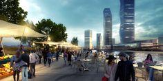 Galeria - Consórcio SYNWHA vence concurso para projetar o parque da orla de Busan North Port - 2