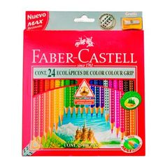 Faber Castell 24 Cores, Colores Faber Castell, Stationery Items, Cute Stationery, Clipboard Crafts, Crayola Colored Pencils, Kids Gift Baskets, Pink Bedroom Decor, School's Out For Summer