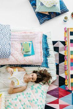 Arro home, textiles para la casa de Beci Orpin