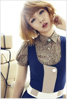4Minute Love Tension Jiyoon Concept Pictures / Photos