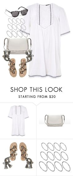 """""""Untitled #4638"""" by keliseblog ❤ liked on Polyvore featuring Topshop, Zara, Hollister Co. and ASOS"""