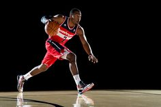 "adidas Introduces ""Crazyquick"" Footwear for John Wall: When John Wall returned to the Washington Wizards in January, rumors had already begun circulating Under Armour Shoes, Under Armour Men, Best Basketball Shoes, Basketball Court, Baskets, John Wall, Yellow Summer Squash, Go Big Blue, Sneaker Magazine"
