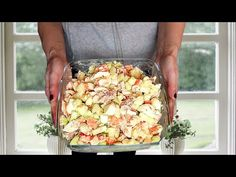 L'insalata che amo mangiare in inverno e in estate! #551 - YouTube Pasta Salad, Cobb Salad, Winter, Clean Eating, Lunch Box, Vegetables, Ethnic Recipes, Fruit, Food