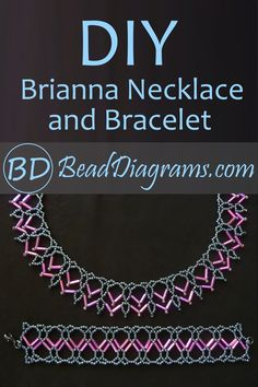 Diy Jewelry, Beaded Jewelry, Handmade Jewelry, Beaded Necklace Patterns, Crochet Necklace, Beading Patterns Free, Bugle Beads, Beautiful Necklaces, Necklace Set