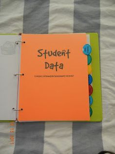 Teacher Binder - my cooperating teacher had something like this, a must!