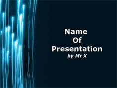 Ray of Light Powerpoint Presentation Template