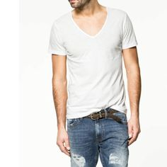 Harry Styles: This classic white t-shirt would go perfect with the look we are creating for Harry! This shirt paired with his signature black skinny jeans and a jacket would be amazing and not too mention look perfect in the video! PS: If you wanted to make it look more rock and roll you could even rip it up a bit, putting holes and tears in it to add edge!