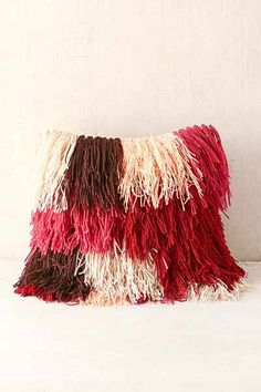 Magical Thinking Snuffy Shag Pillow - Urban Outfitters