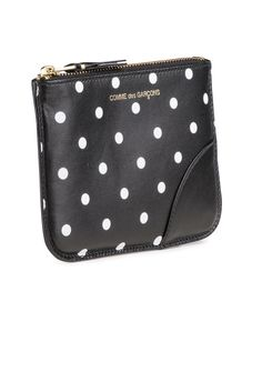 Comme Des Garcons Polka Dot Coin Pouch #Shopafar #CommeDesGarcons #leather #accessories  #luxury #comme