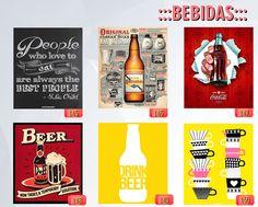 poster de filmes, poster de bebidas, poster para cozinha (10)
