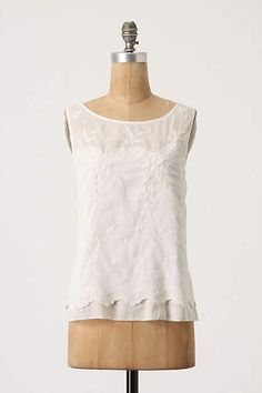 Anthropologie Moulinette Soeurs Ethel Pullover Blouse 10 White Handkerchief  #AnthropologieMoulinetteSoeurs #Blouse #Career