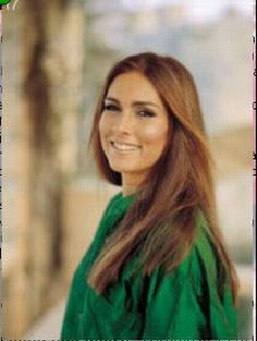 Romina Power daughter of Tyrone Edmund Power