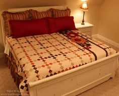 Gobble Chain quilt tutorial from Piece N Quilt. Love this one. Maybe for the guest room