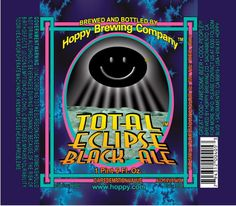Total Eclipse Black Ale is on Hoppy Hour all day in honor of