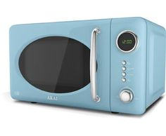 Akai Digital Microwave 5 Levels 700 W Blue Free Delivery And Returns On Eligible Orders