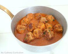 My Culinary Curriculum: Boulettes de bœuf aux merguez (Beef and merguez me...