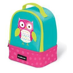 Crocodile Creek Owl  is a beautifully-designed, sturdy & high-quality lunch box.