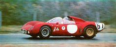 Le Mans 1967 Autodelta SpA (I) Alfa Romeo T33 'Nanni' (Giovanni) Galli (I)