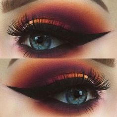 Gorgeous Makeup: Tips and Tricks With Eye Makeup and Eyeshadow – Makeup Design Ideas Makeup Goals, Makeup Inspo, Makeup Art, Makeup Tips, Makeup Ideas, Makeup Brands, Makeup Geek, Beauty Makeup, Makeup Companies