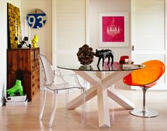 Love this X table & I bet would be easy DIY Heather Nette Kingencore