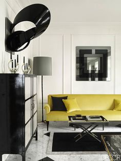 Colin Radcliffe Notting Hill Townhouse - Inside A Rebuilt London Home - ELLE DECOR