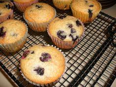 Trisha Yearwood's Blueberry Muffins