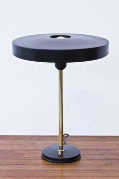 modernisten - Dutch 1950s table lamp by Louis Kalff