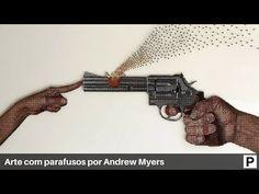Arte com parafusos por Andrew Myers - YouTube