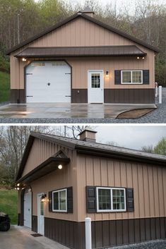 45 Durable & Beautiful Steel Homes That You Have To See - House Topics Residential Steel Buildings, Metal Buildings, Metal Building Homes, Building A House, Steel Homes, Steel Frame House, Living Spaces, Outdoor Structures, House Design