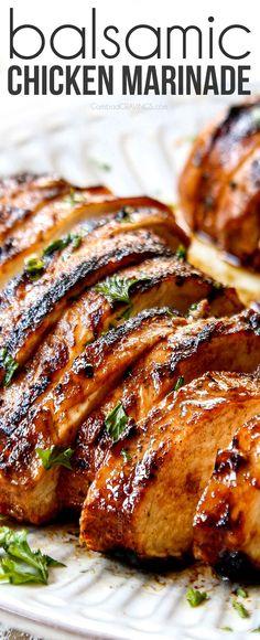 Balsamic Chicken Marinades, Balsamic Marinade, Chicken Marinade Recipes, Grilling Recipes, Cooking Recipes, Healthy Recipes, Chicken Marinade For Grilling, Mustard Chicken Marinade, Chicken Injection Recipes