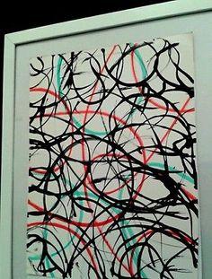 """COZZANI  olio arte  dipinto """"Tableau Convesso  del 1998 PEZZO UNICO -50% base a"""