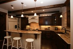 Old Kitchen Designs for Homes | Tuscan Italian Looks -Beautiful Old World Decorating Ideas Tuscan ...