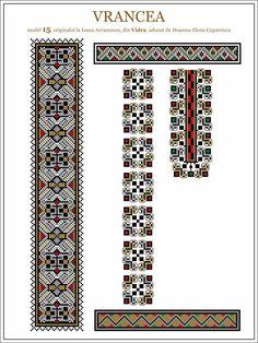 Semne Cusute: iie din Vidra, Vrancea, MOLDOVA