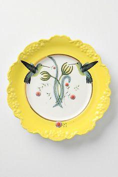 Natural World Dessert Plate #anthropologie