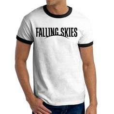 Falling Skies Custom Ringer Tee T-Shirt