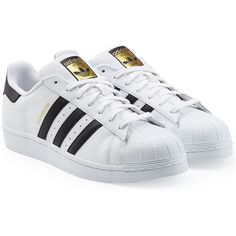 6ea014b23204 Adidas Originals Superstar Leather Sneakers ( 105) ❤ liked on Polyvore  featuring mens