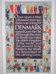 kongerækken plakat