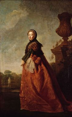 1780 Augusta of Saxe-Gotha by Allan Ramsay studio