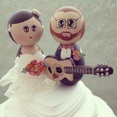 Custom Wedding Cake Toppers by DSMeeBee | Hatch.co