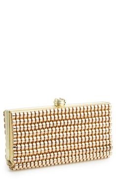 Sondra Roberts Metal Weave Clutch Available At Nordstrom