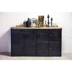 Locker dressoir industrieel nu 699€ Giga meubel